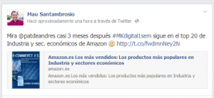 #MKdigital1sem entre los más vendidos en Amazon | Wide Marketing