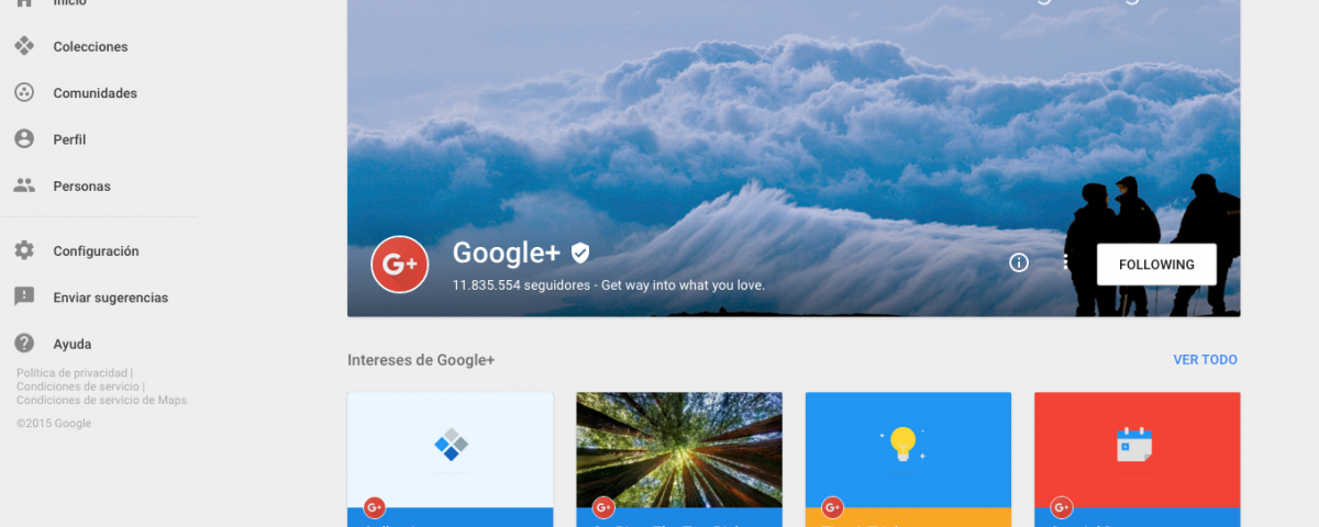 Cambios en Google+ 001 | Wide Marketing