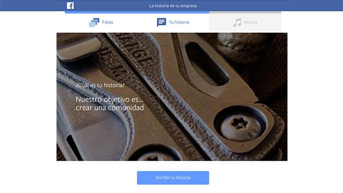 Cómo crear un vídeo de empresa en Facebook 03